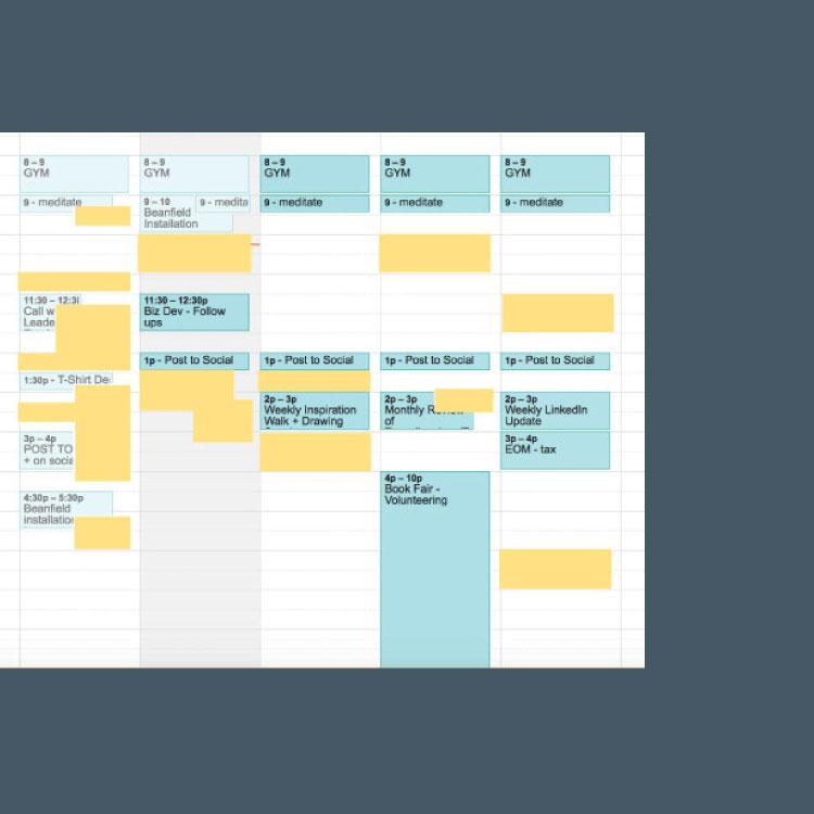book scheduling