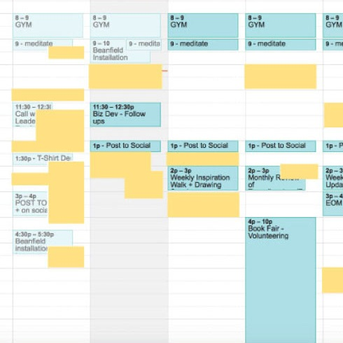 scheduling book publications
